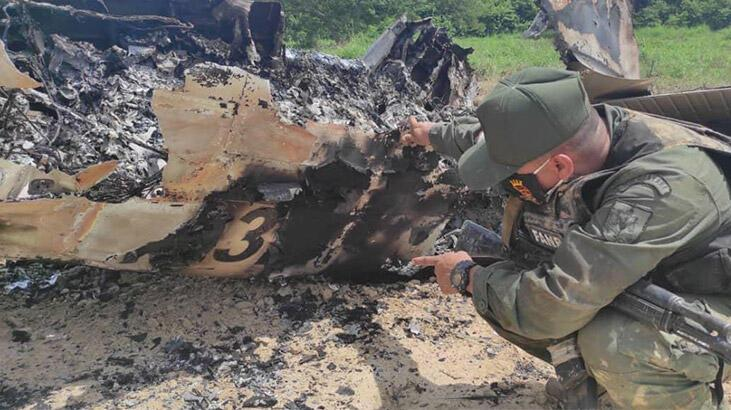 Veneuzela duyurdu: Uyuşturucu taşıyan ABD uçağı vuruldu