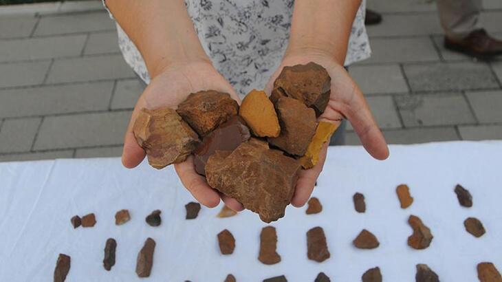 Tunceli'de yontma taş aletler bulundu!