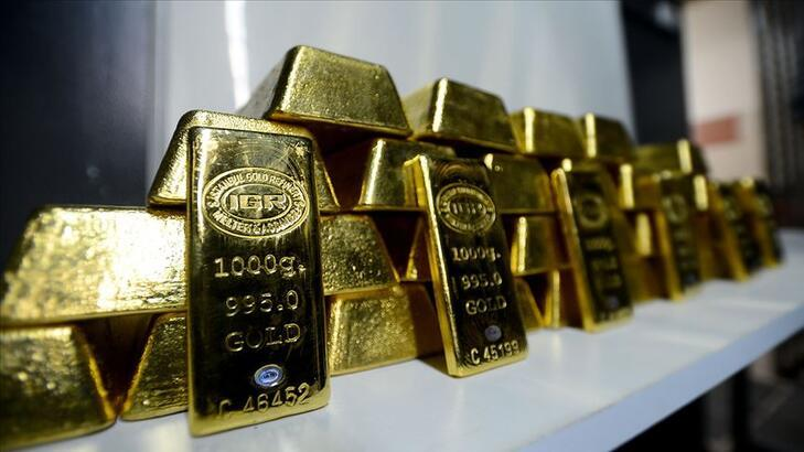 Altının kilogramı 473 bin 200 liraya geriledi