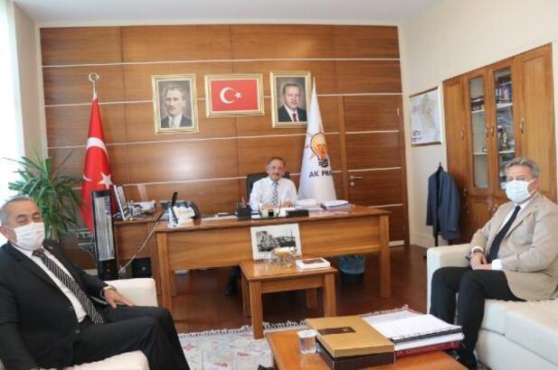 Başkan Palancıoğlu, Ankara'da temaslarda bulundu