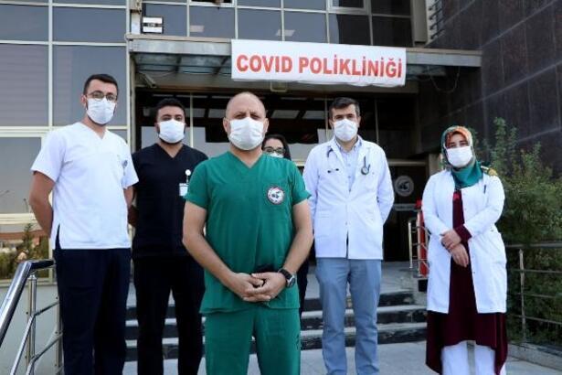Van'da ek Covid-19 polikliniği açıldı
