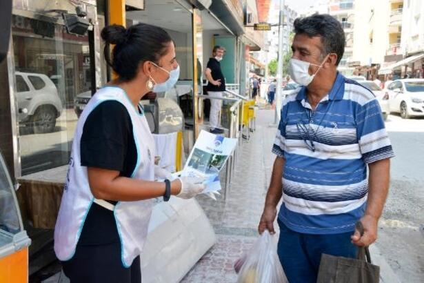 Yenişehir'de vatandaşlar çalışmalarla ilgili bilgilendiriliyor