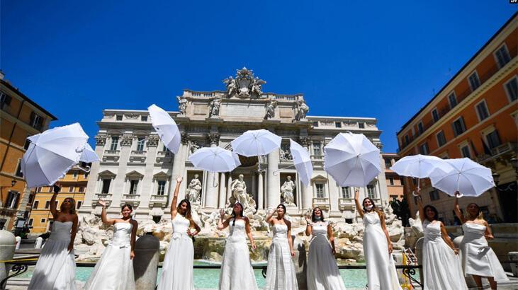 Sicilya'da koronavirüste evlilikler azaldı, evlenecek çiftlere ikramiye yolda