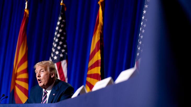 Trump şimdiden çamura yatıyor! 'Seçim sonucu hiçbir zaman kesin olarak belirlenemeyebilir'