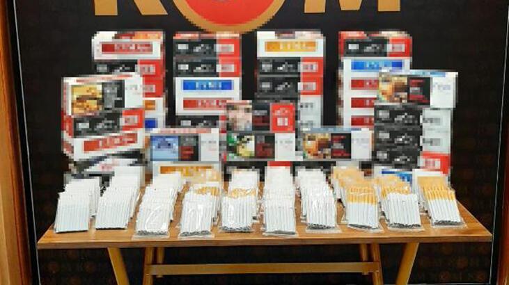 Çanakkale'de kaçak 15 bin sarma sigara ele geçirildi