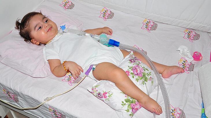 Rümeysa bebek için zaman daralıyor! Günden güne zayıflıyor