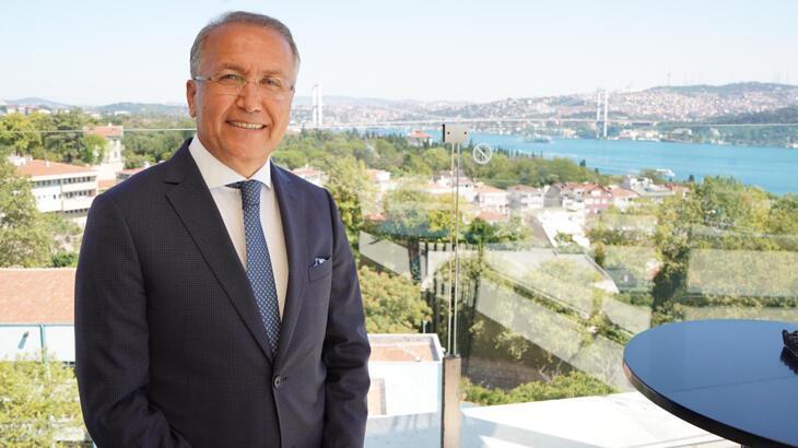 Steve Simon'dan Tenis Federasyonu Başkanı Cengiz Durmuş'a tebrik