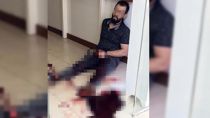 Manavgat'ta silahlı kavga! Bacağından vuruldu