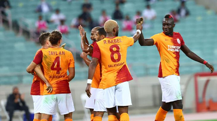 Galatasaray uygun adım