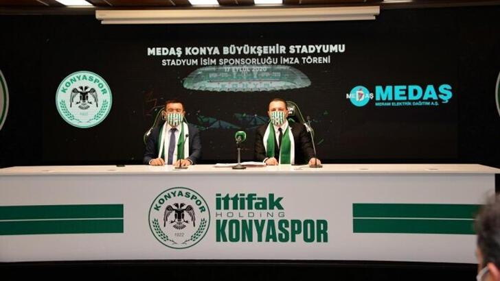 Konyaspor Haberleri   Konyaspor'un yeni stadyum sponsoru MEDAŞ