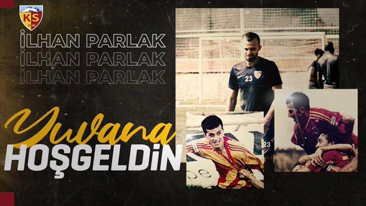 Transfer haberleri | Kayserispor, İlhan Parlak'ı renklerine bağladı