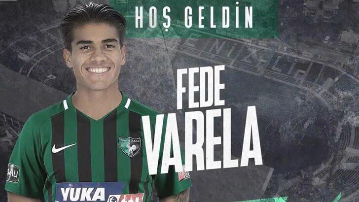 Transfer haberleri | Denizlispor, Fede Varela'yı kadrosuna kattı