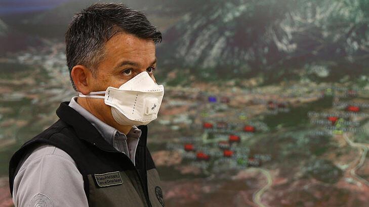 Bakan Pakdemirli: Antalya Adrasan yangını kontrol altına alınmıştır
