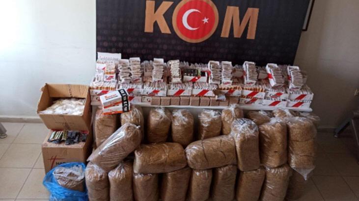 Aydın'da 'kaçak tütün' operasyonu: Gözaltılar var