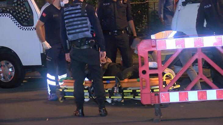 Şişli'de polisten kaçan şüpheliler kaza yaptı