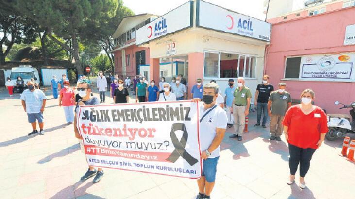 Belediyeden korona savaşçılarına destek