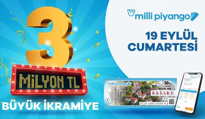 19 Eylül Milli Piyango sonuçları Millipiyangoonline.com'da | Milli Piyango bilet sorgulama