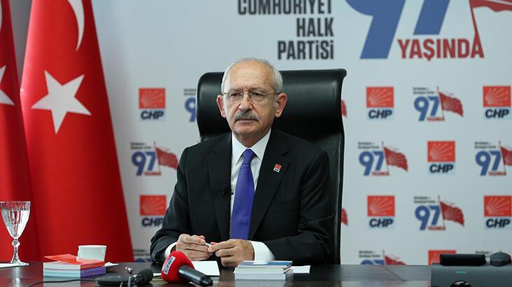 CHP Genel Başkanı Kılıçdaroğlu, gazilerle görüştü