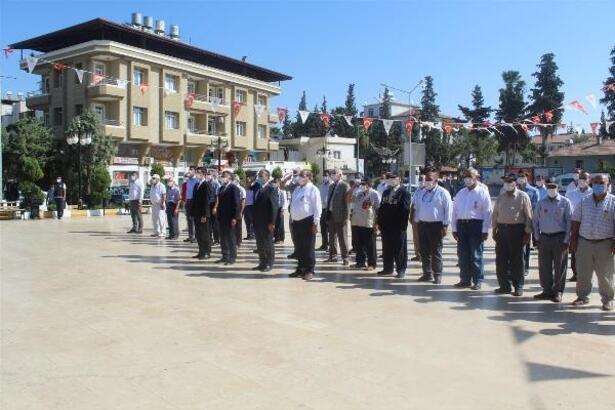 Reyhanlı'da Gaziler Günü kutlandı