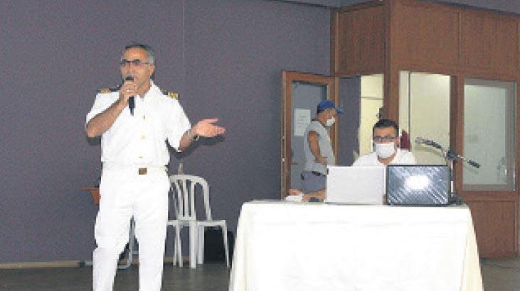 Amatör denizciler sınavda ter döktü