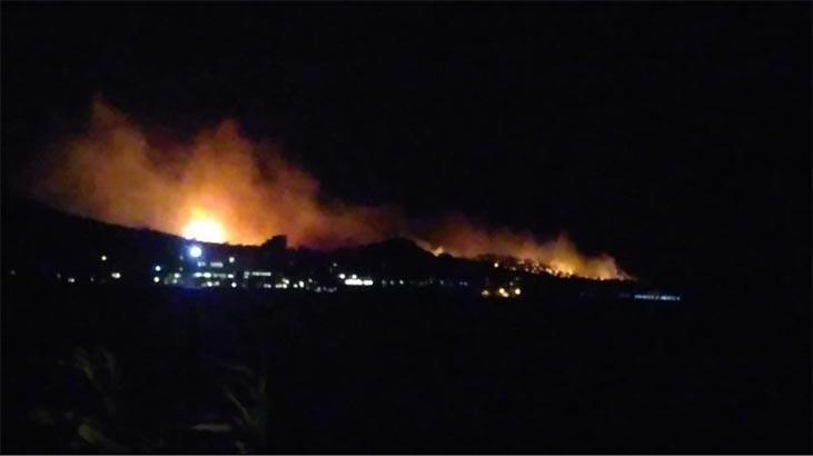 Son dakika: Balıkesir'de korkutan yangın!