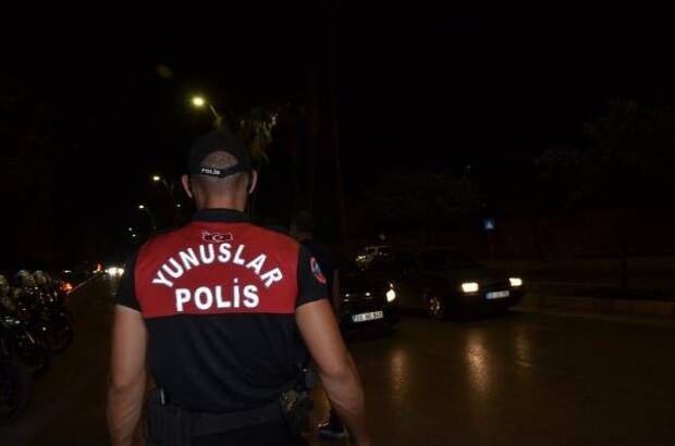Adana'da drone destekli asayiş uygulaması