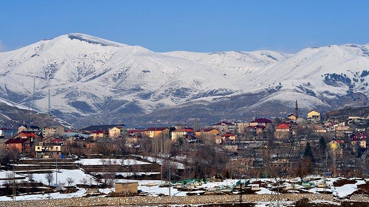 Bitlis Haritası: Bitlis İlçeleri Nelerdir? Bitlis İlinin Nüfusu Kaçtır, Kaç İlçesi Vardır?