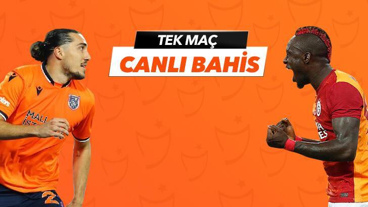 Başakşehir - Galatasaray karşılaşmasında Canlı Bahis heyecanı Misli.com'da!