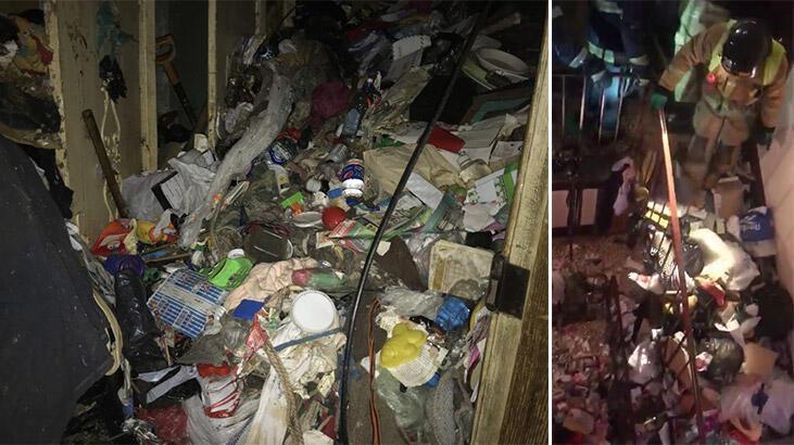 Çöp evde yaşlı çiftin cesedi bulundu