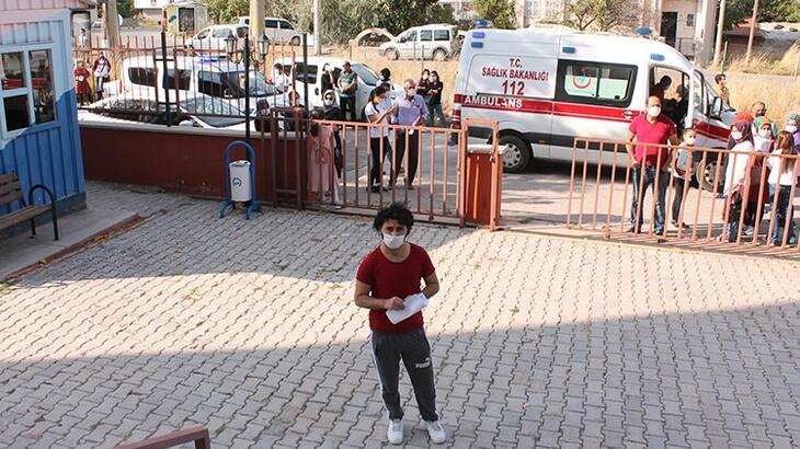 KPSS'ye ambulans ve polis eşliğinde getirildi!