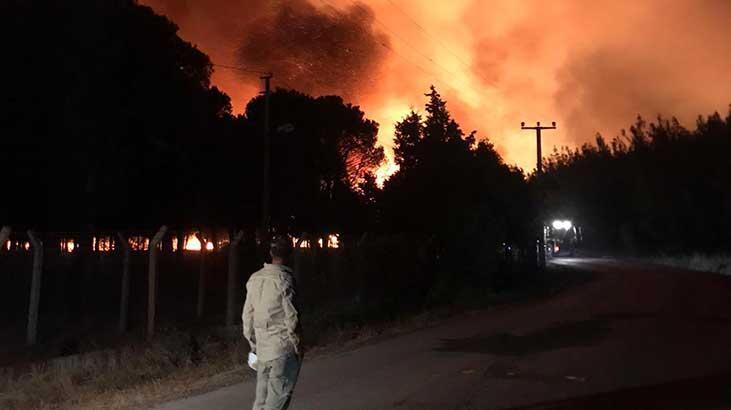 Ayvalık'ta 80 hektar ormanlık alan yandı; kara tablo sabah ortaya çıktı
