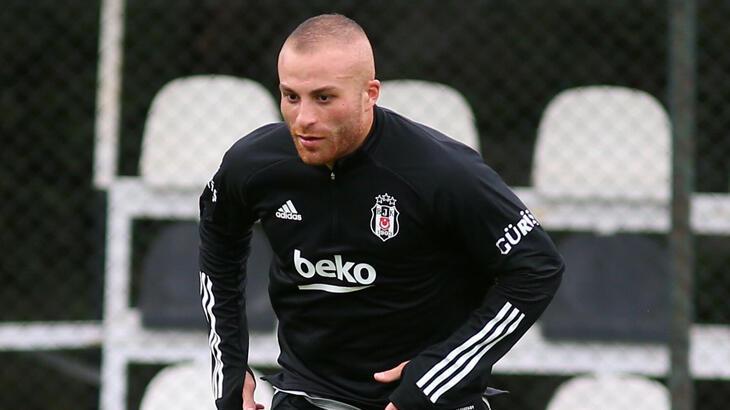 Gökhan Töre, Beşiktaş'ta ilk idmanına çıktı