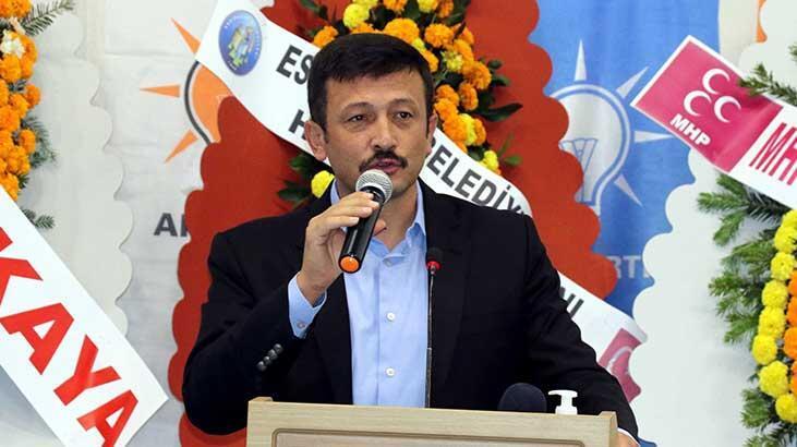 Hamza Dağ, Karabük'te partisinin ilçe kongresinde konuştu