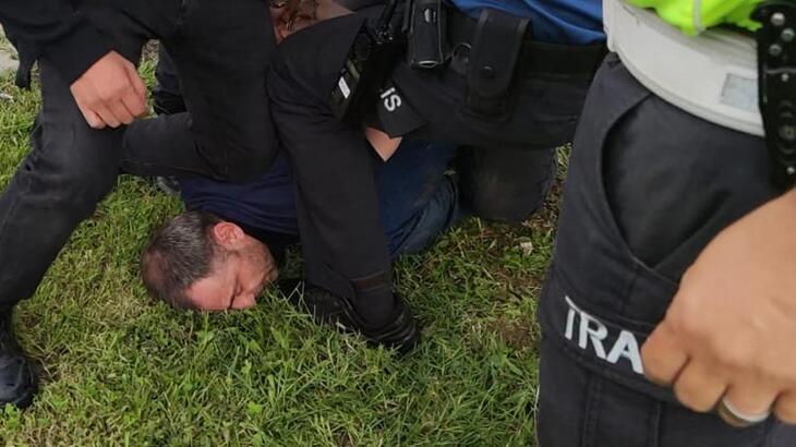 Kazaya karışan alkollü sürücü sağlık ekiplerine saldırdı!