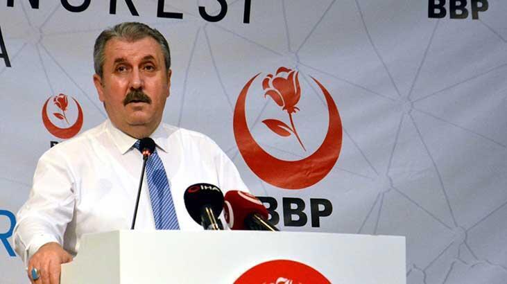 Mustafa Destici'den skandal manşete tepki: 'Kendilerine iade ediyorum'