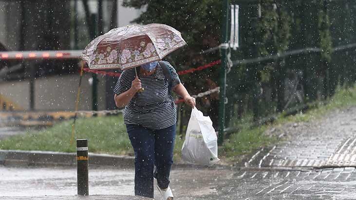 İstanbul hava durumu 21 Eylül   Yağmur yağacak mı? - Metoroloji'den son dakika İstanbul uyarısı