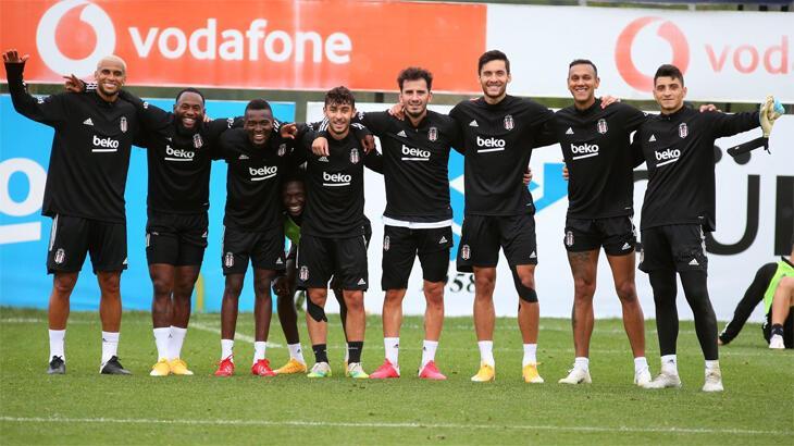 Beşiktaş'ta Rio Ave maçı hazırlıkları