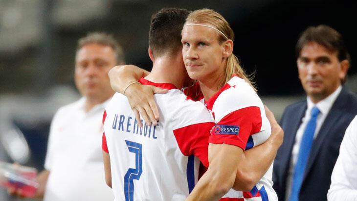 Hırvat futbolcular Vida ve Meljnak'a milli davet