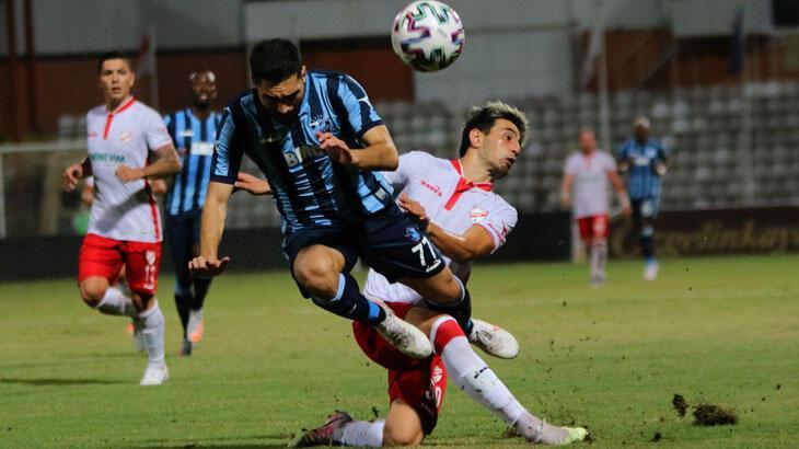 Adana Demirspor - Beypiliç Boluspor: 1-1