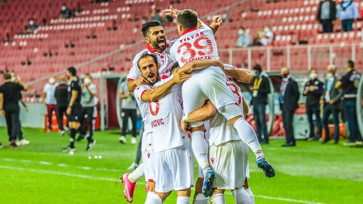 Yılport Samsunspor'da 3 puan sevinci yaşanıyor