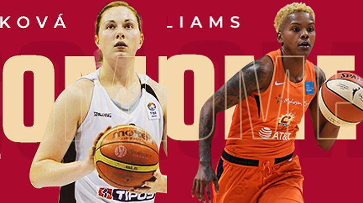 Son dakika | Courtney Williams ve Hruscakova Galatasaray'da!