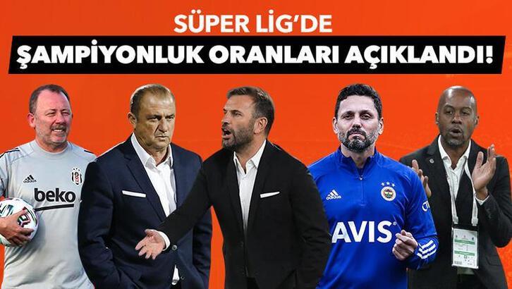 Son dakika | Süper Lig şampiyonluk oranları güncellendi!