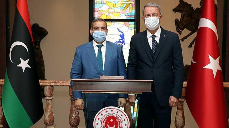 Son dakika... Bakan Akar'dan önemli Libya açıklaması