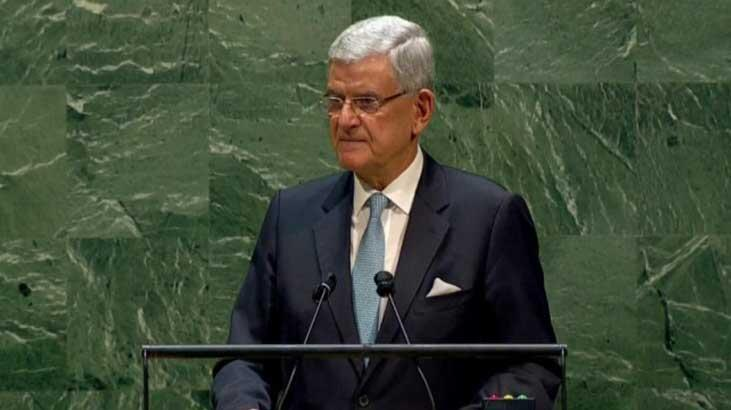 Son dakika... BM'de bir ilk! Türk Genel Kurul Başkanı Volkan Bozkır'dan önemli açıklamalar