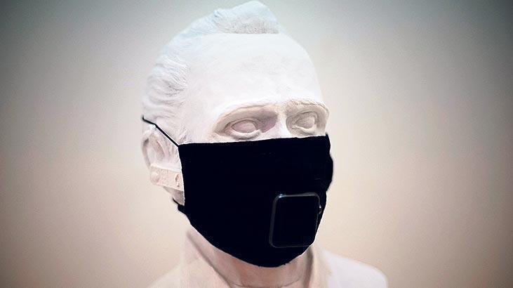 Baksı'da maske sergisi