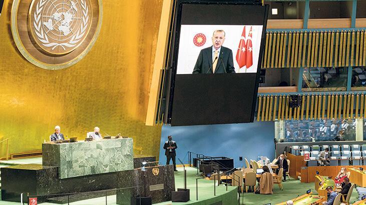 Cumhurbaşkanı Erdoğan BM Genel Kurulu'na hitap etti: Çıkarlarımız yok sayılamaz