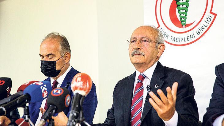 CHP lideri TTB'yi ziyaret etti: Hükümeti kim uyaracak?