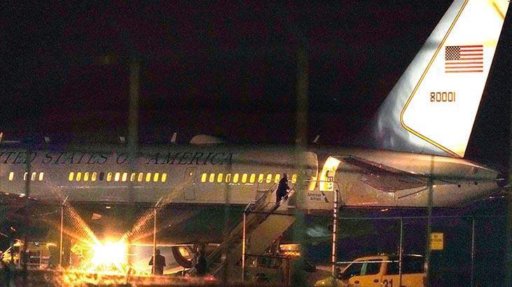 Pence'in uçağı New Hampshire'deki havalimanına zorunlu dönüş yaptı