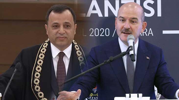 AYM Başkanı'ndan Bakan Soylu'ya yanıt