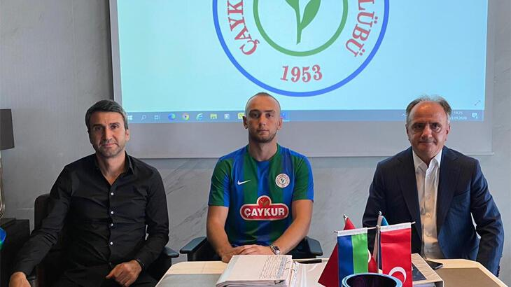 Son dakika | Rizespor, Doğan Erdoğan ile 3 yıllık sözleşme imzaladı